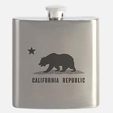 California Republic Flask