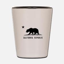 California Republic Shot Glass