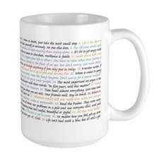 All 50 Life Lessons Mugs