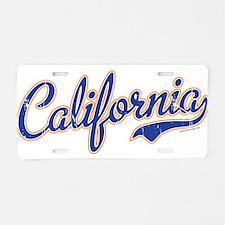 California VINTAGE Aluminum License Plate