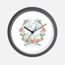 Shakespeare Wall Clock