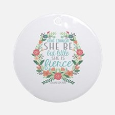 Shakespeare Round Ornament