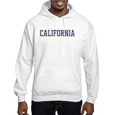 California Jersey Font Hoodie