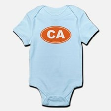 California CA Euro Oval Infant Bodysuit