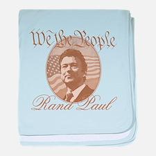 We the people - Rand Paul baby blanket