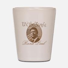 We the people - Rand Paul Shot Glass
