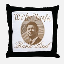 We the people - Rand Paul Throw Pillow