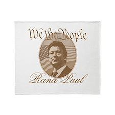 We the people - Rand Paul Throw Blanket