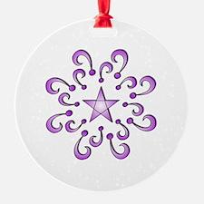 TShirtPurpleStarDesign.png Ornament
