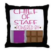 Chief Of Staff Throw Pillow