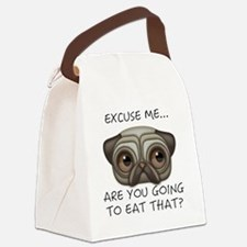 ARE YOU GOING TO EAT THAT Canvas Lunch Bag