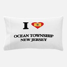 I love Ocean Township New Jersey Pillow Case