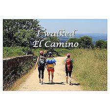 I walked El Camino, Spain