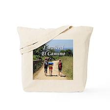 I walked El Camino, Spain Tote Bag