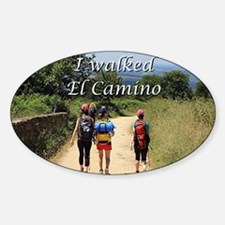 I walked El Camino, Spain Decal