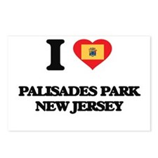 I love Palisades Park New Postcards (Package of 8)