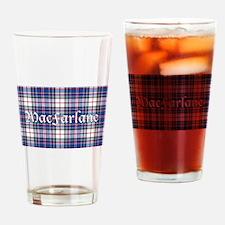 Tartan-MacFarlane dress Drinking Glass