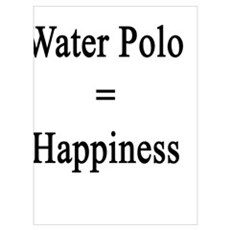 Tacos + Water Polo = Happiness  Canvas Art