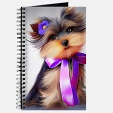 ByCatiaCho Yorkie Violet Journal
