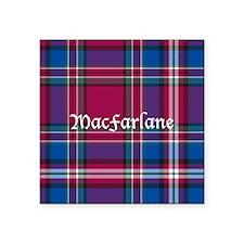 "Tartan - MacFarlane Square Sticker 3"" x 3"""