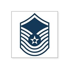 "Unique Air force insignia Square Sticker 3"" x 3"""