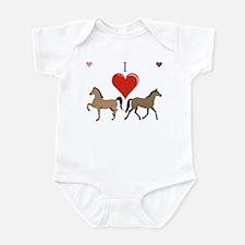 Cute Horse lovers Infant Bodysuit