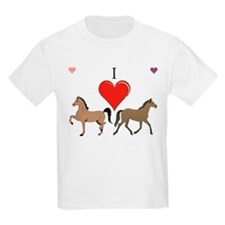 I luv horses T-Shirt