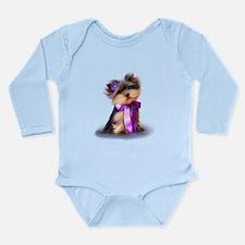 ByCatiaCho Yorkie Violet Body Suit