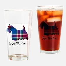 Terrier - MacFarlane Drinking Glass