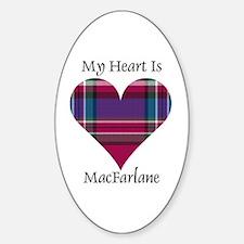 Heart - MacFarlane Sticker (Oval)