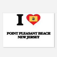 I love Point Pleasant Bea Postcards (Package of 8)