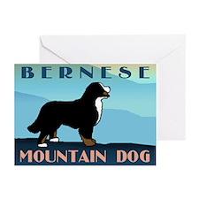 Bernese Blue Mountain Greeting Cards (Pk of 10)