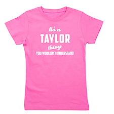 Unique Taylor Girl's Tee