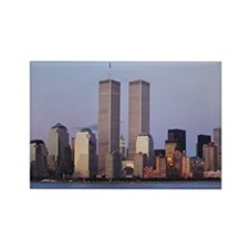 WTC Landscape Rectangle Magnet