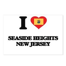 I love Seaside Heights Ne Postcards (Package of 8)