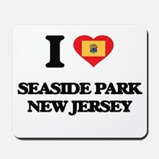 I love Seaside Park New Jersey Mousepad