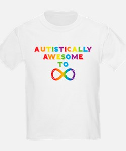 Autistically Awesome To Infinity T-Shirt
