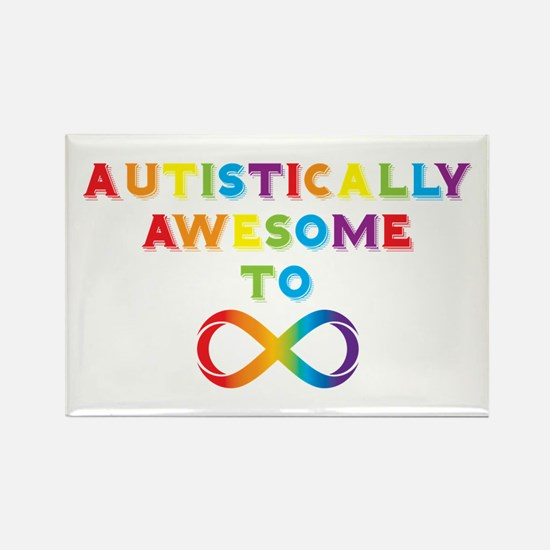 Autistically Awesome To Infinity Magnets