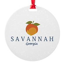 Sanannah - Georgia. Ornament