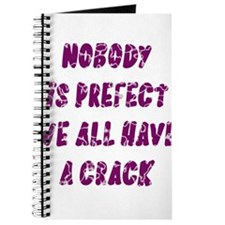Nobody is Prefect Dark Purple Journal