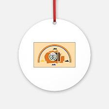 Navajo Nation Flag Ornament (Round)