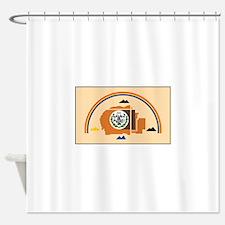 Navajo Nation Flag Shower Curtain