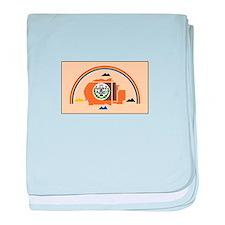 Navajo Nation Flag baby blanket
