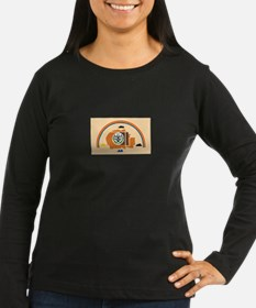 Navajo Nation Flag Long Sleeve T-Shirt