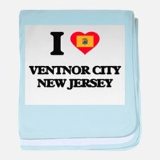 I love Ventnor City New Jersey baby blanket