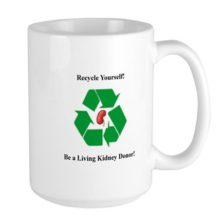 Living Organ Donor Large Mug