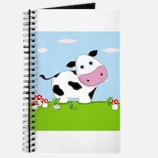 Cow in a Field Journal