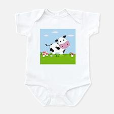 Cow in a Field Body Suit