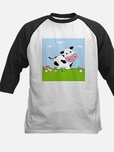 Cow in a Field Baseball Jersey