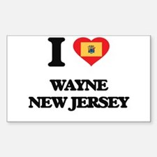 I love Wayne New Jersey Decal